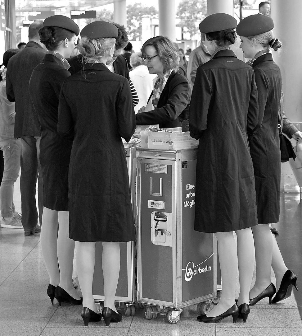 Air Berlin Flughafen Düsseldorf