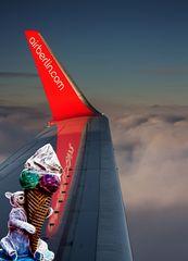 Air Berlin scheut keinen Aufwand im Dienste der Passagiere
