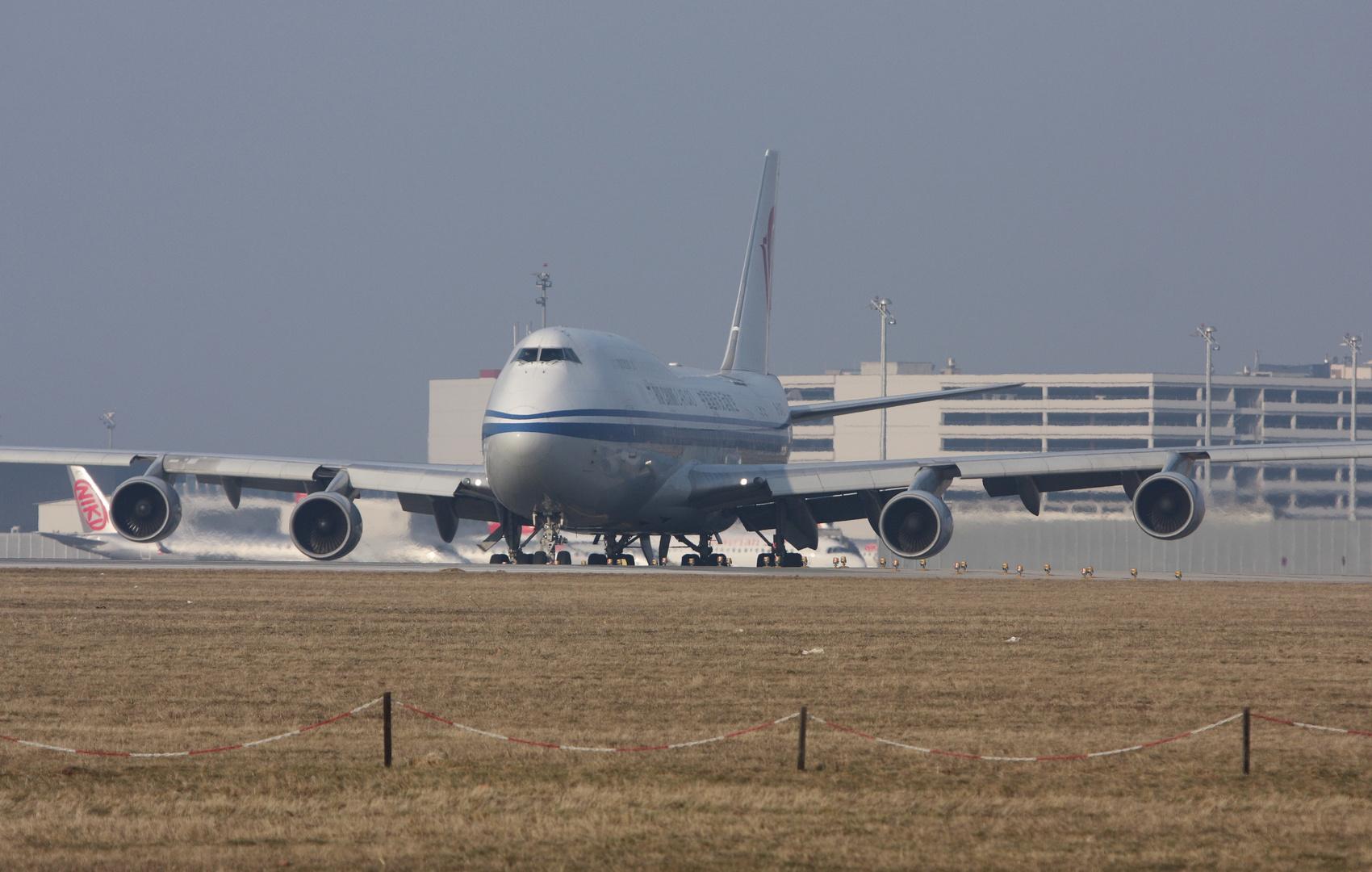 Air China Boeing 747-400 Cargo