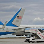 Air Force One in Erfurt