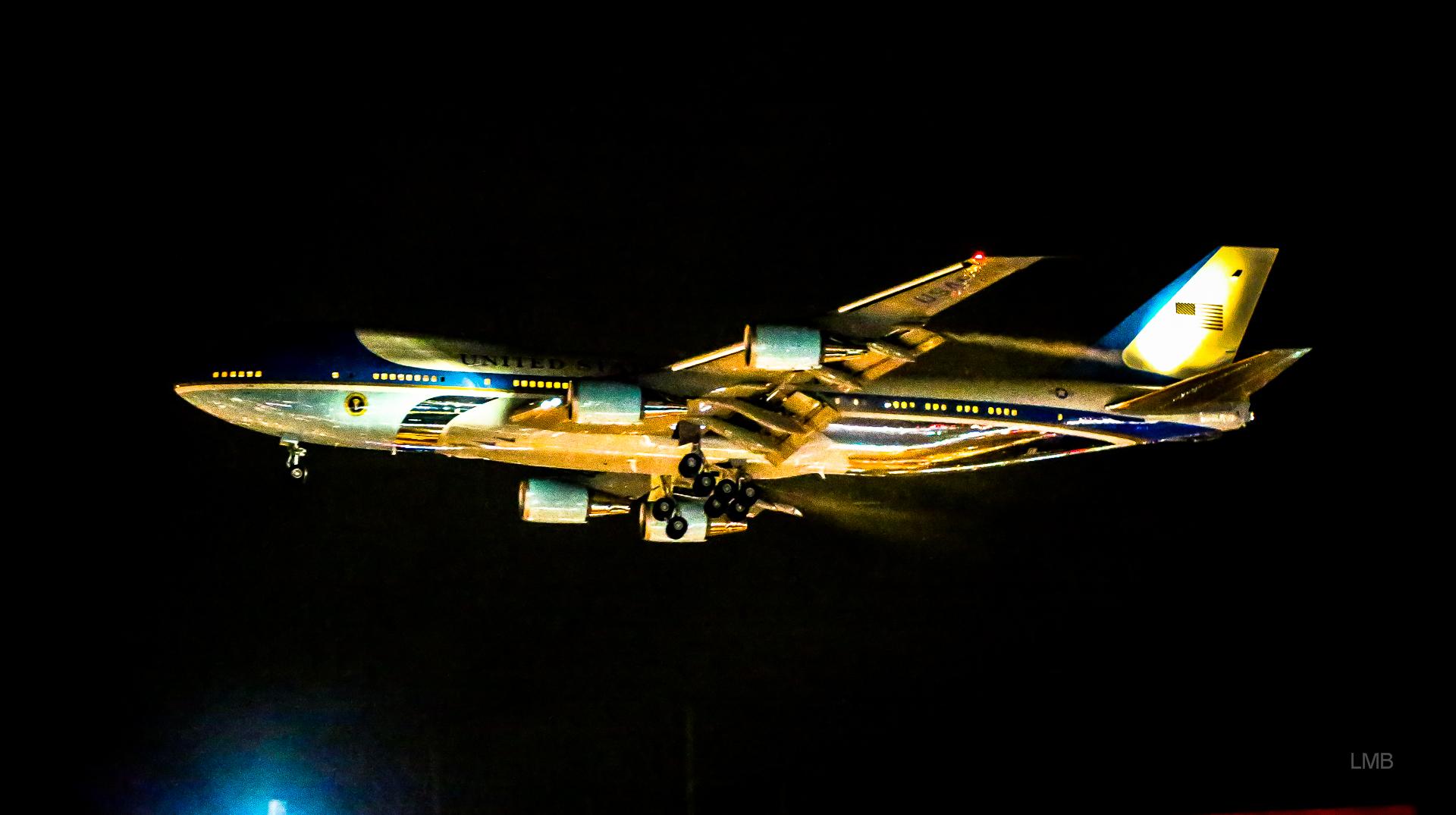 Air Force One überm Kutschi