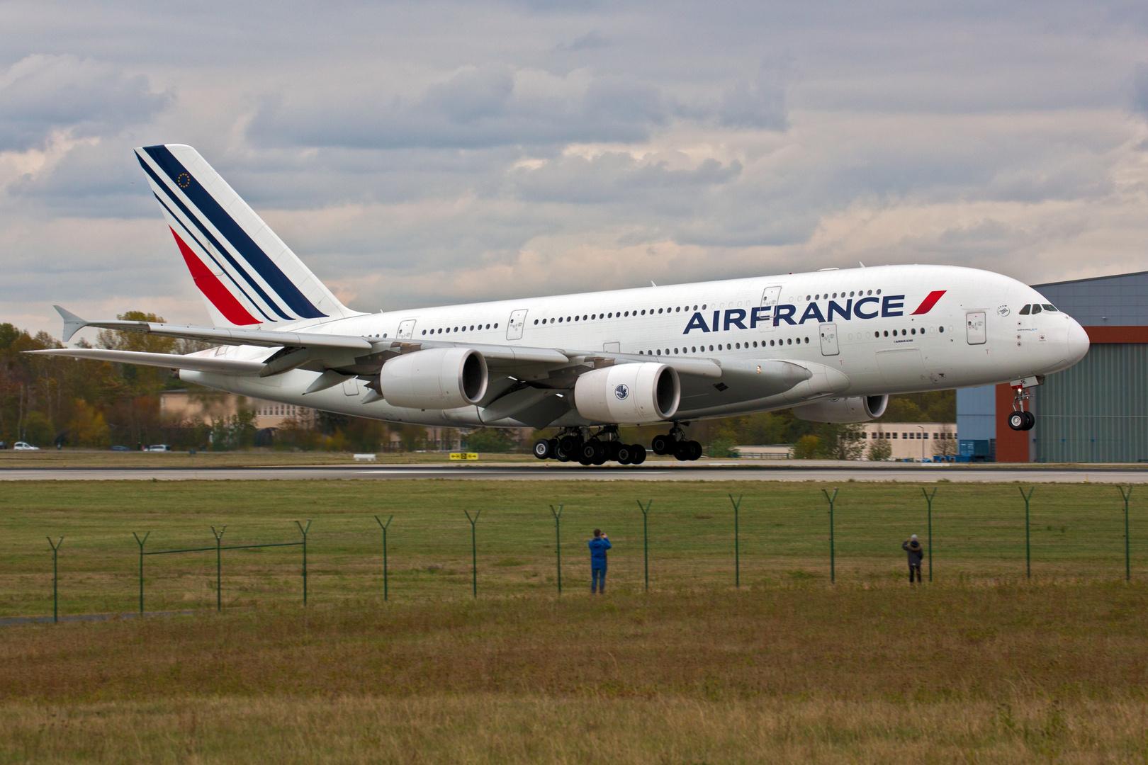 Air France A380 DRS