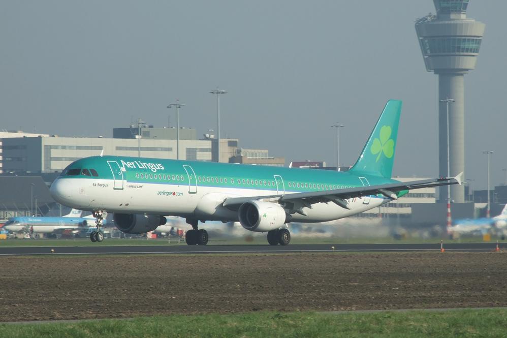 Air Lingus beim Take Off ...
