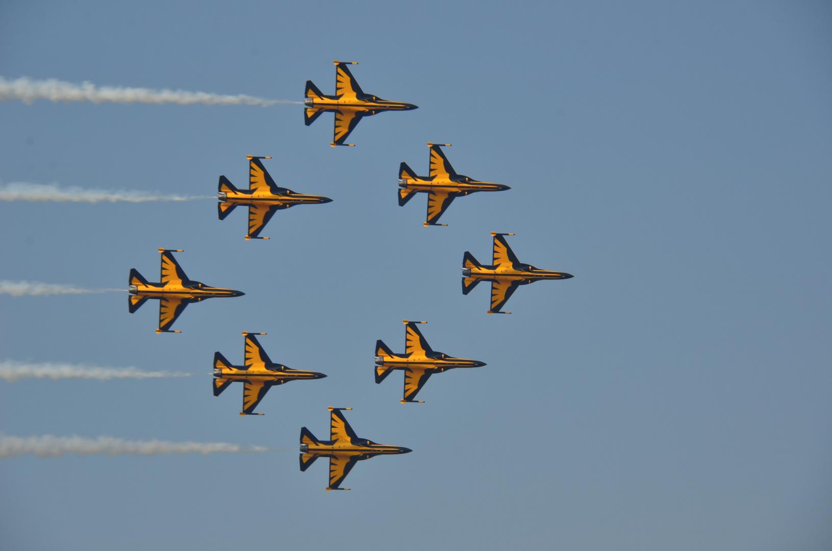 Air show Osan Air Force base Korea