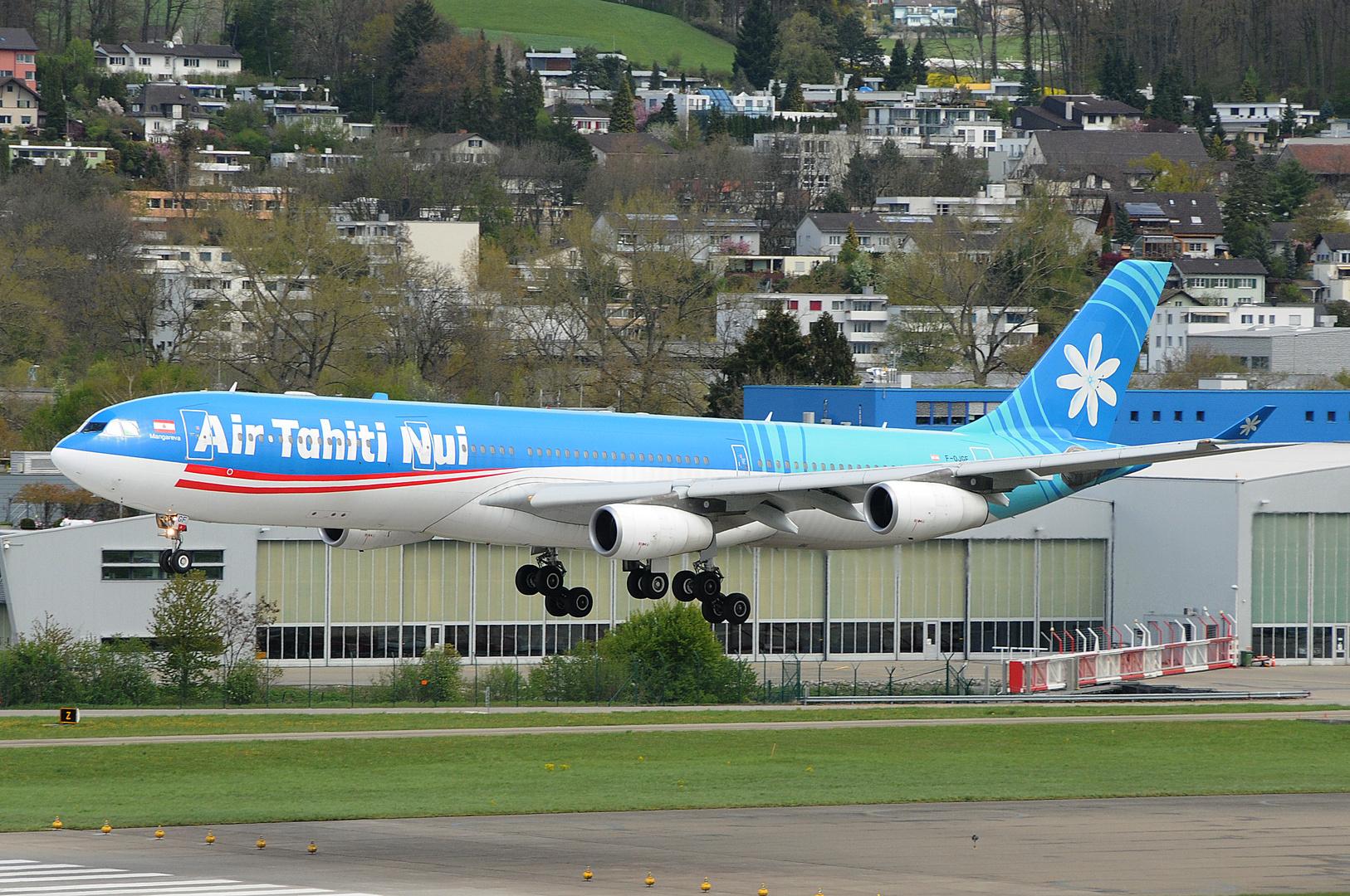 Air Tahiti Nui Airbus A-340-313X