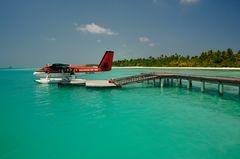 Air Taxi zum Strand