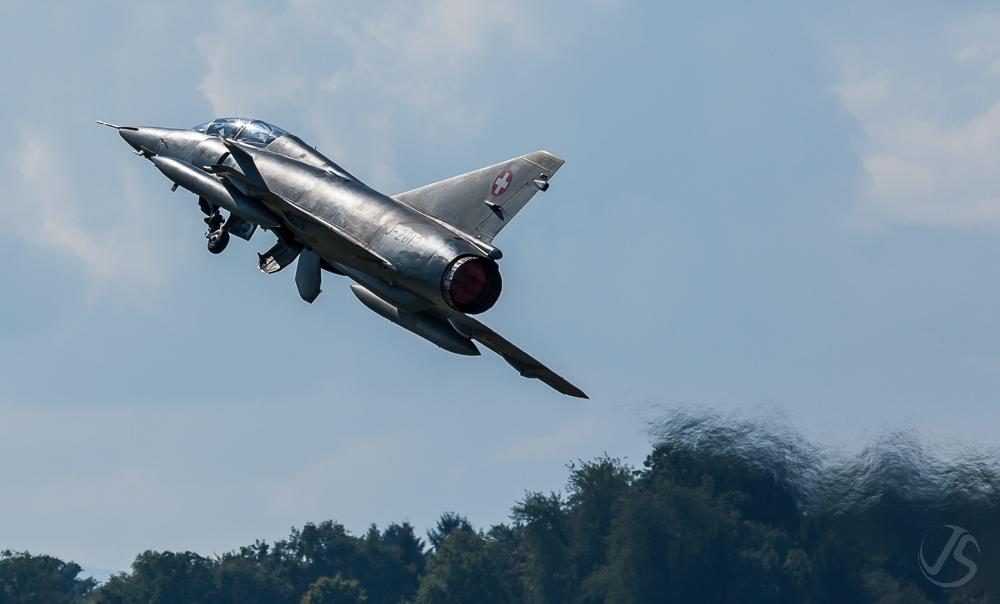 AIR14 - Mirage III kurz nach dem Start