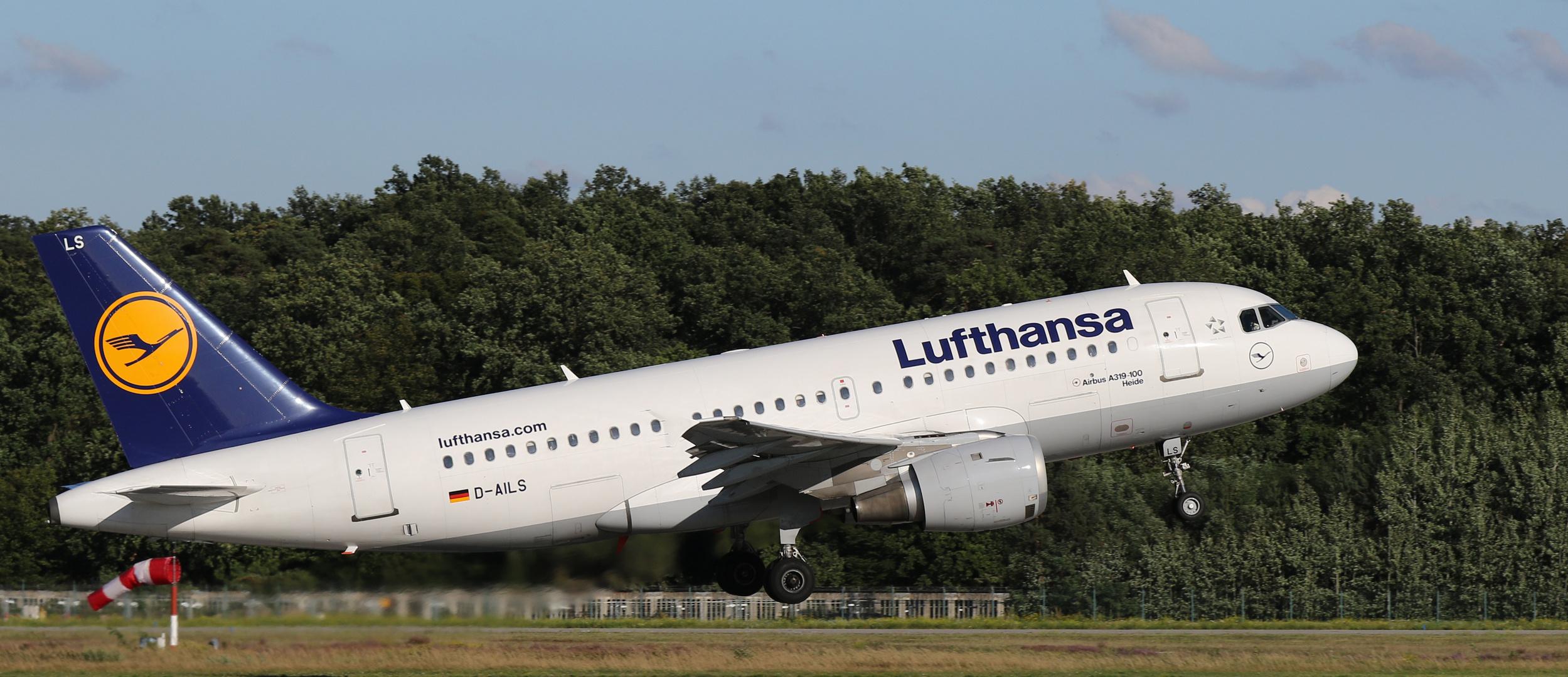 Airbus 319-100 Heide