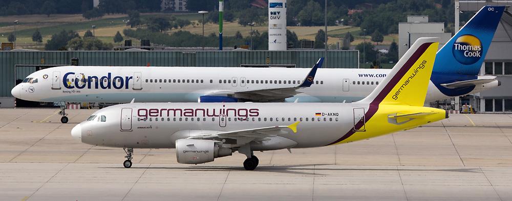 Airbus 319 meets Boeing 757