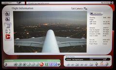 Airbus 380-800 Anflug auf Bangkok