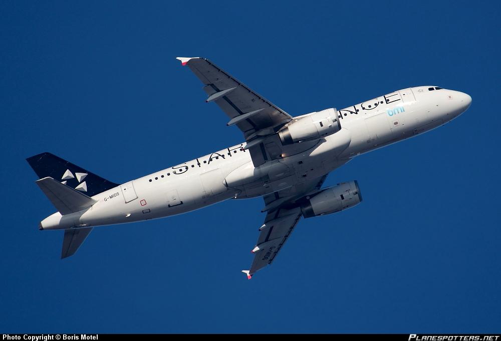 Airbus A-320-232 bmi British Midland Star Alliance