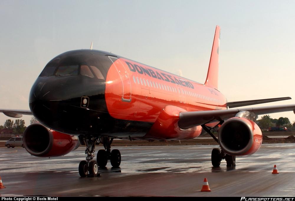 Airbus A-320-232 Donbassaero