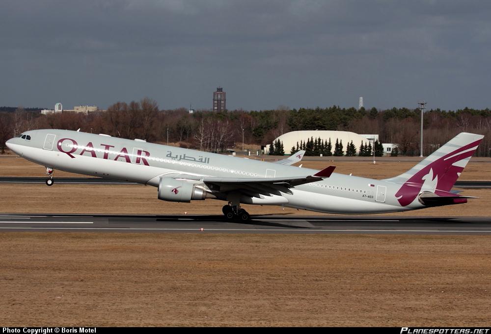 Airbus A-330-302 Qatar Airways *A333*