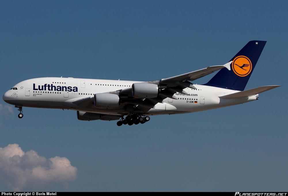 "Airbus A-380-841 ""Berlin"""