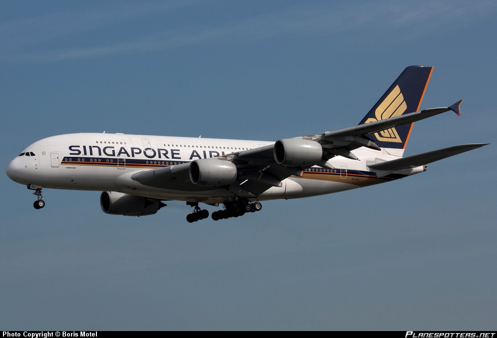 Airbus A-380-841 Singapore Airlines II