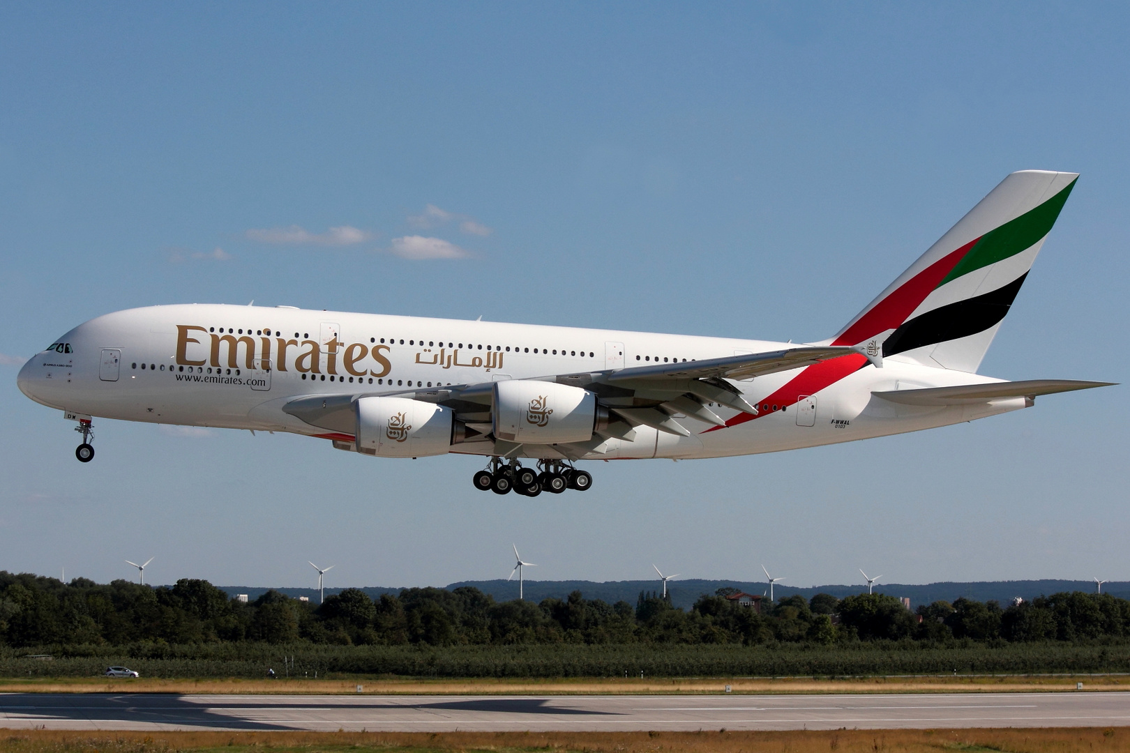 """Airbus A-380-861 Emirates """"On Order"""" F-WWAL MSN 103"""