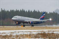 Airbus A320-214, Aeroflot
