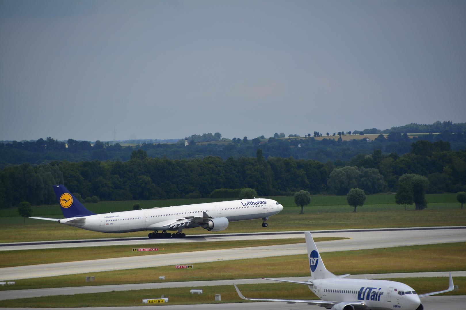 Airbus A340-600 der Lufthansa