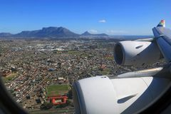 Airbus A340-600 Landing in Cape Town