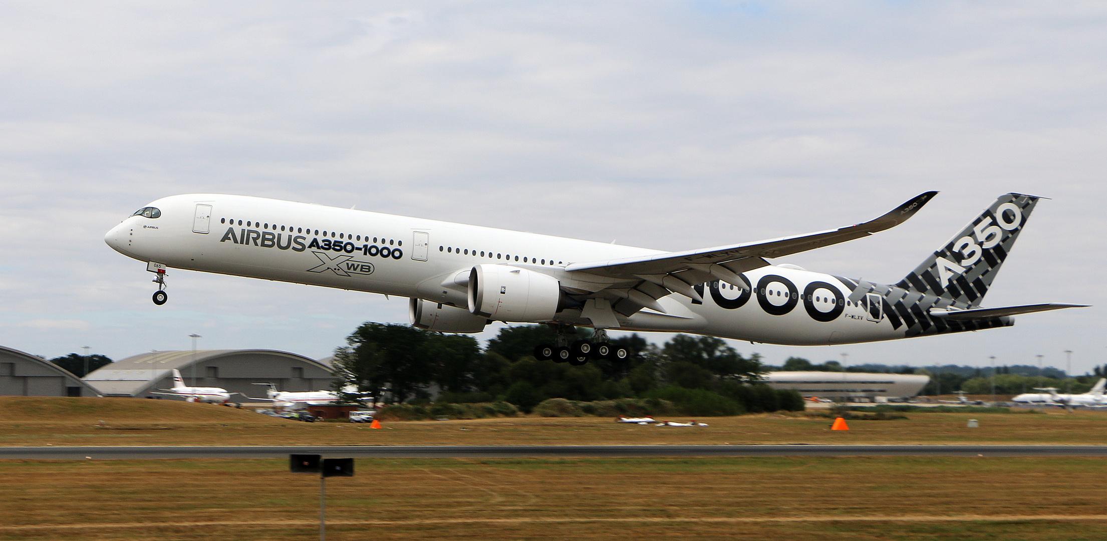 Airbus A350-1000 XWB / F-WLXV