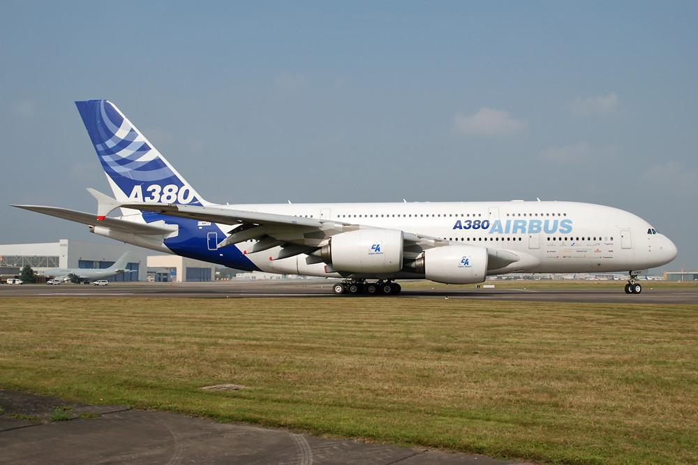 Airbus A380 in Köln