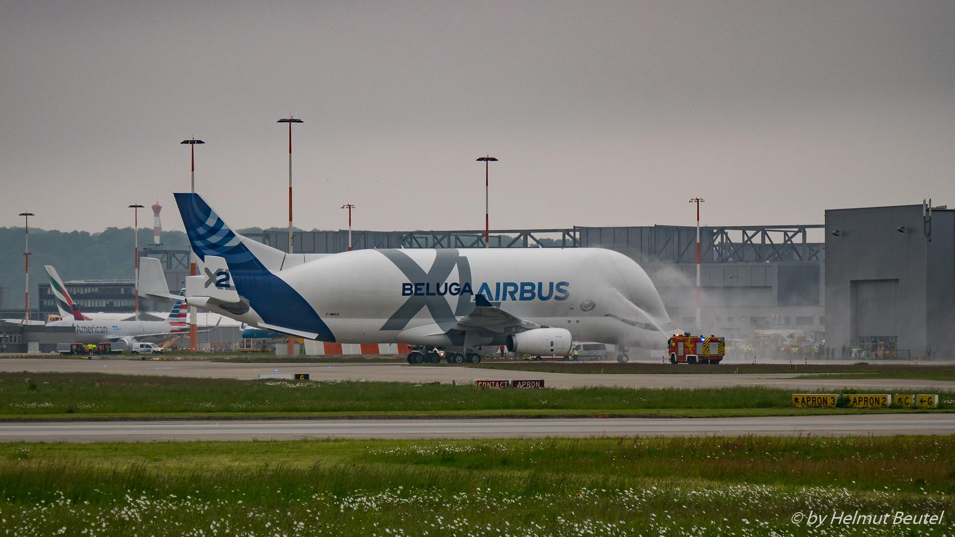 AIRBUS Beluga XL - Begrüßung
