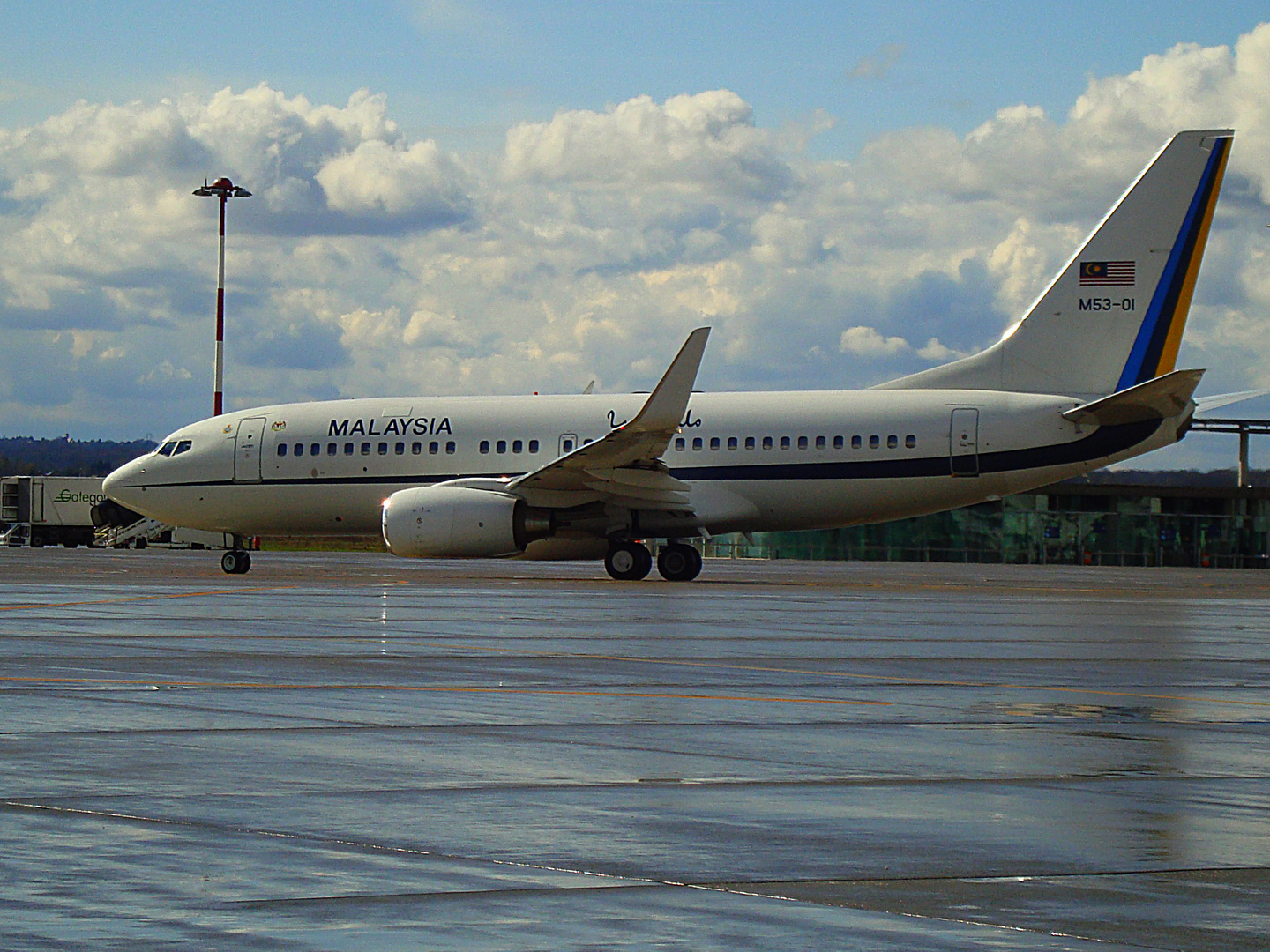 Aircraft of the King of Malaysia 1