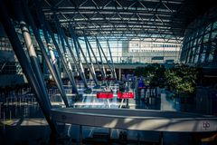 Airport DUS Corona Time