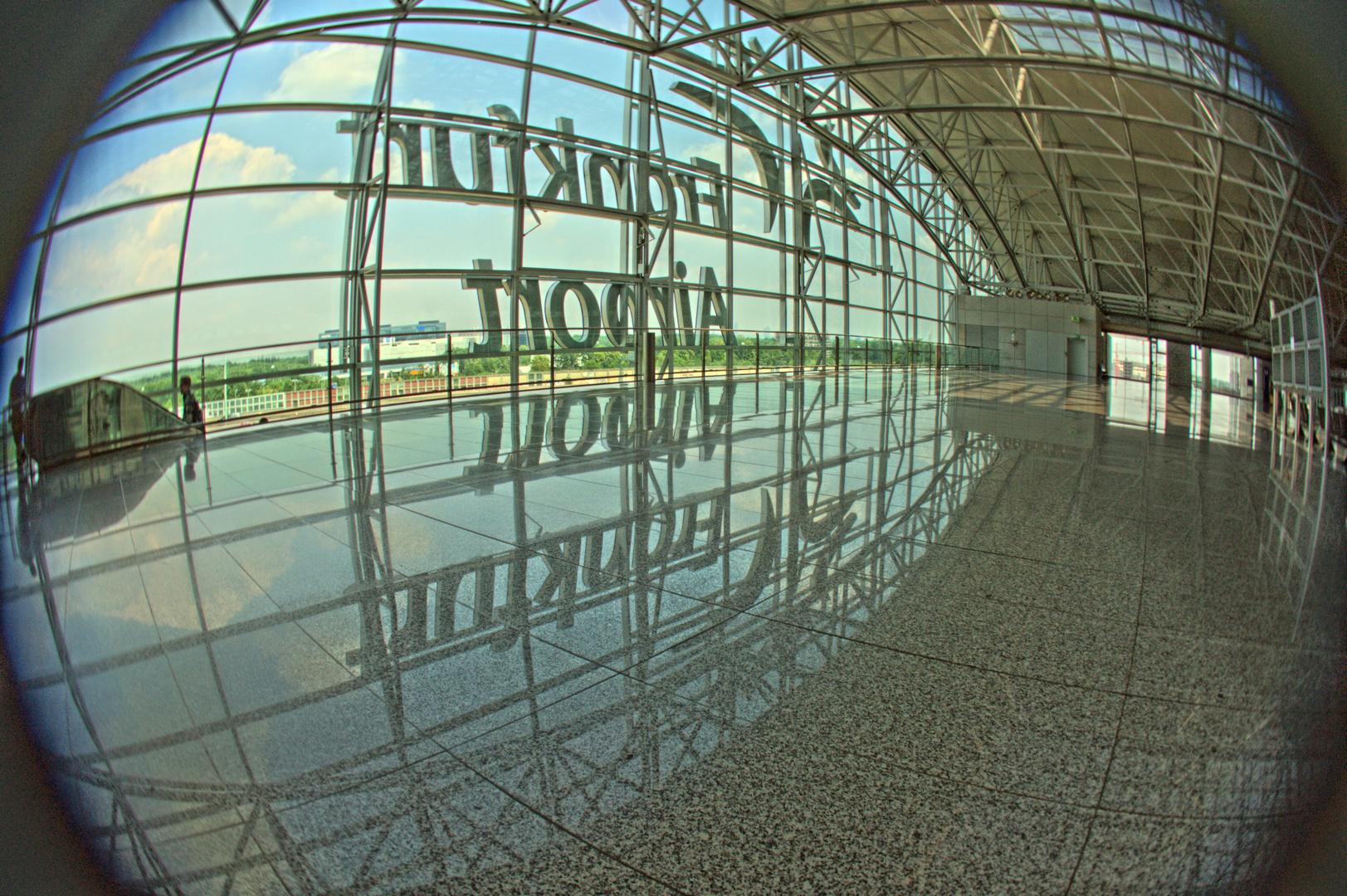 Airport Frankfurt mit Fisheye