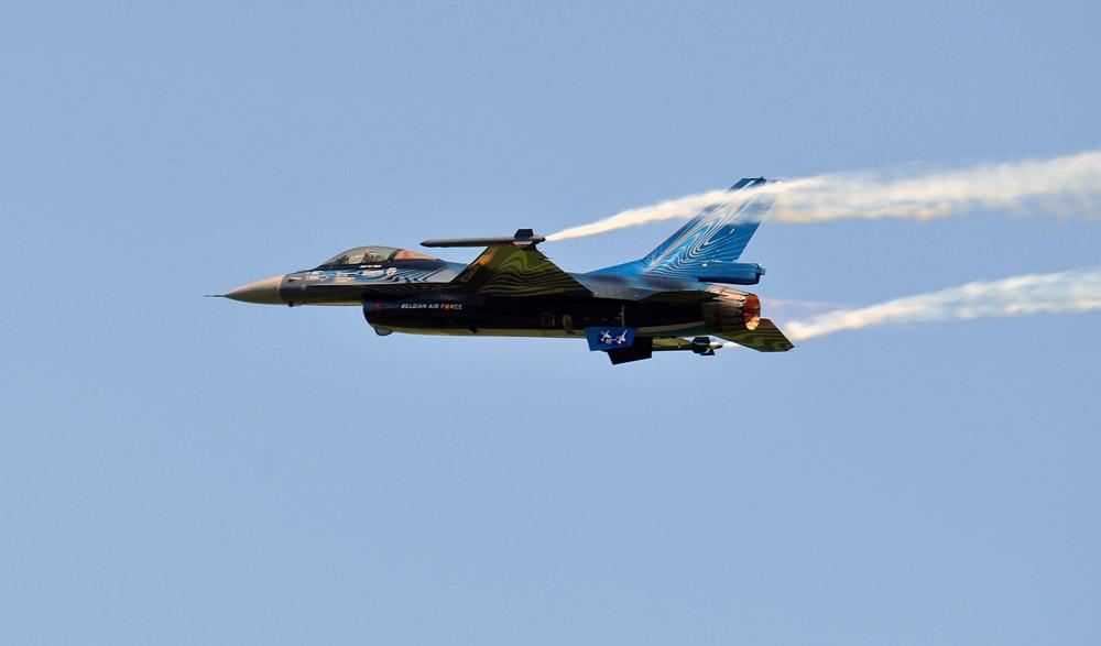 Airpower 2011 in Zeltweg - F16