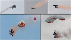 Airpower 2011 - Wingsuit