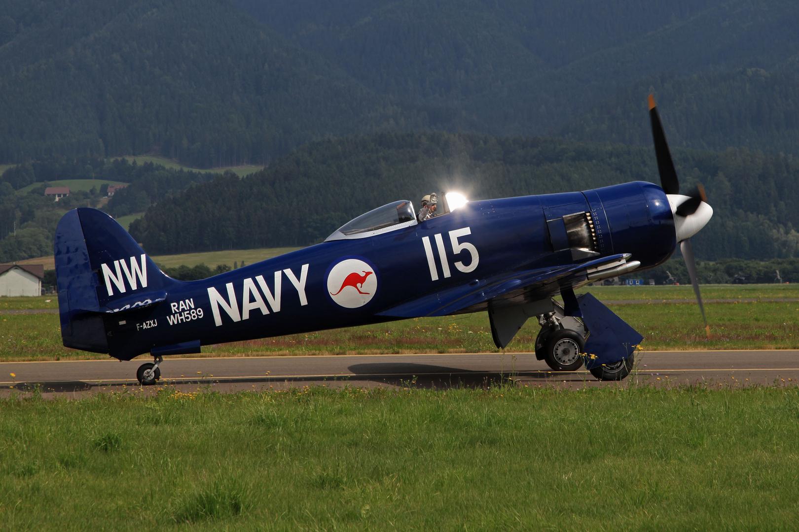 Airpower 2013 Hawker Sea Fury FB.11