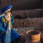 Ait Benhaddou - Junger Tuareg