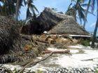 Aitutaki aprés le cyclone PAT