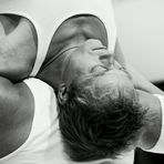 Akrobaten auf der Photokina 2012