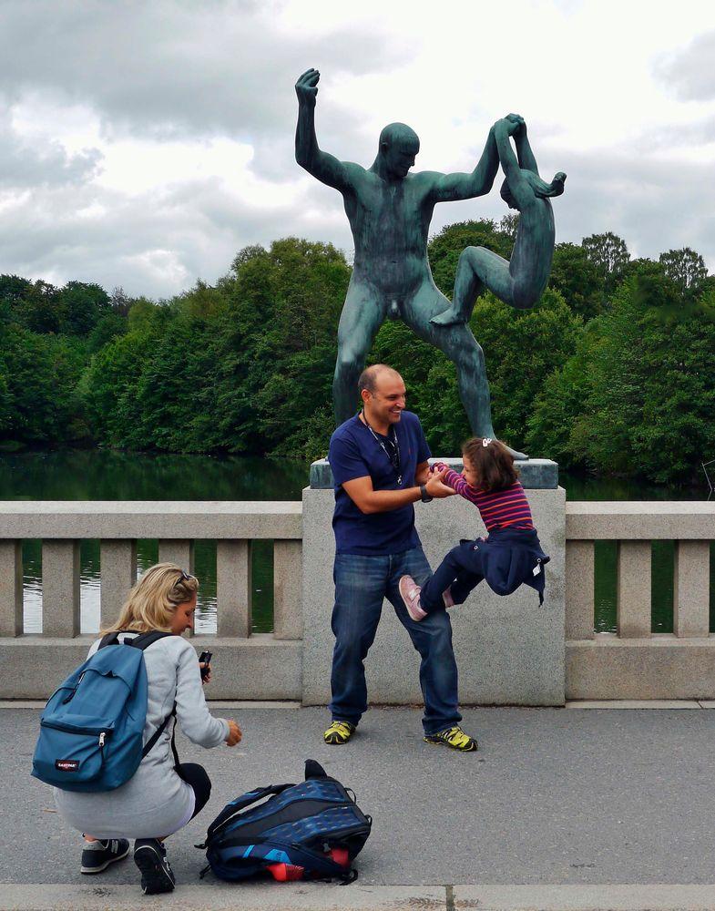 Akrobatik nach Vorlage ...