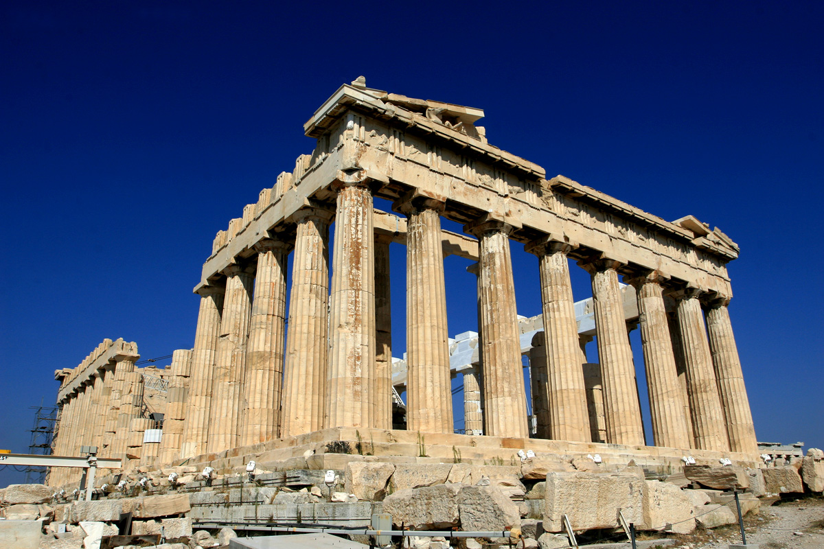 Akropolis - Parthenontempel 1