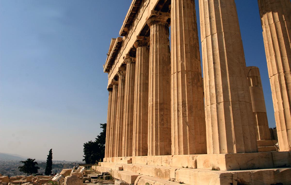 Akropolis - Parthenontempel 2