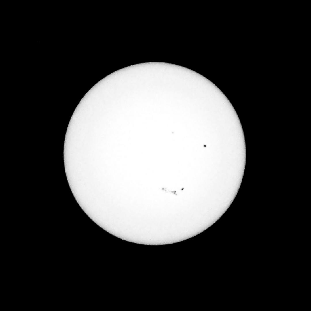 aktuelle Sonnenflecken