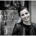 Al Caffè delle Carrozze (3^ di 3 in bn)