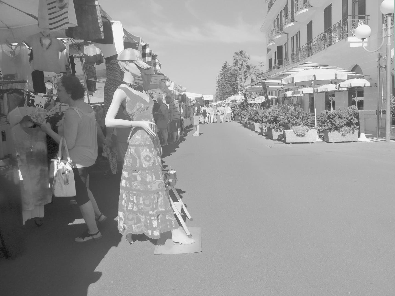 Al mercato di Bordighera