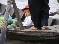 Al mercato di Cai Ran