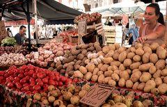 al mercato di Catania