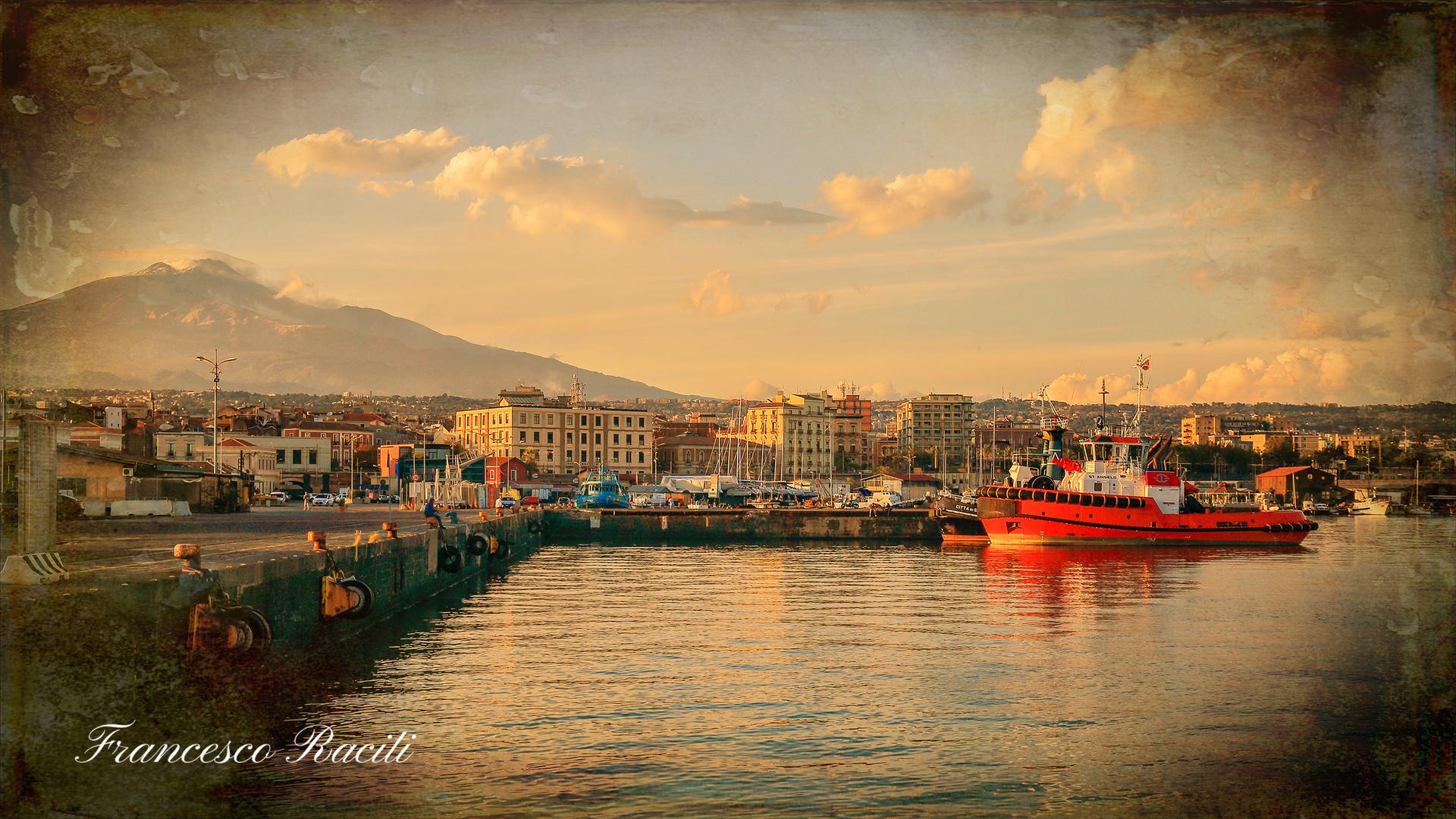 Al porto di Catania