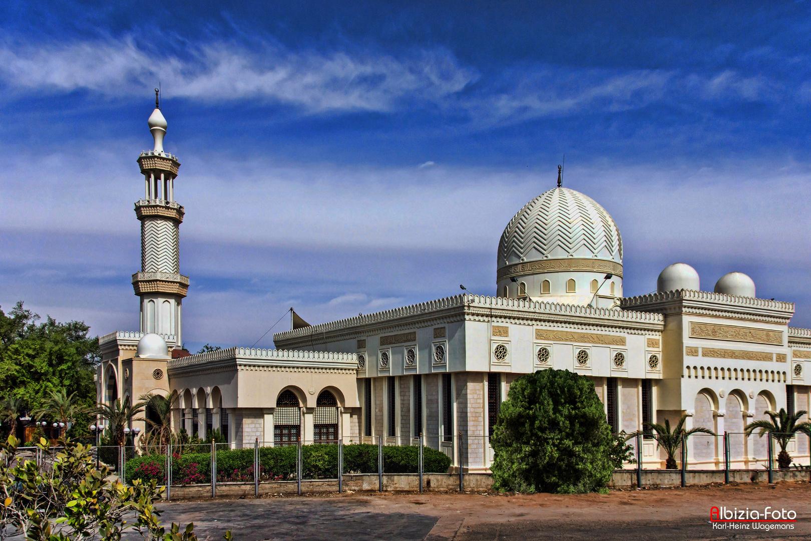 Al-Sharif Hussein Bin Ali-Moschee in Aqaba (Jordanien) von 1975