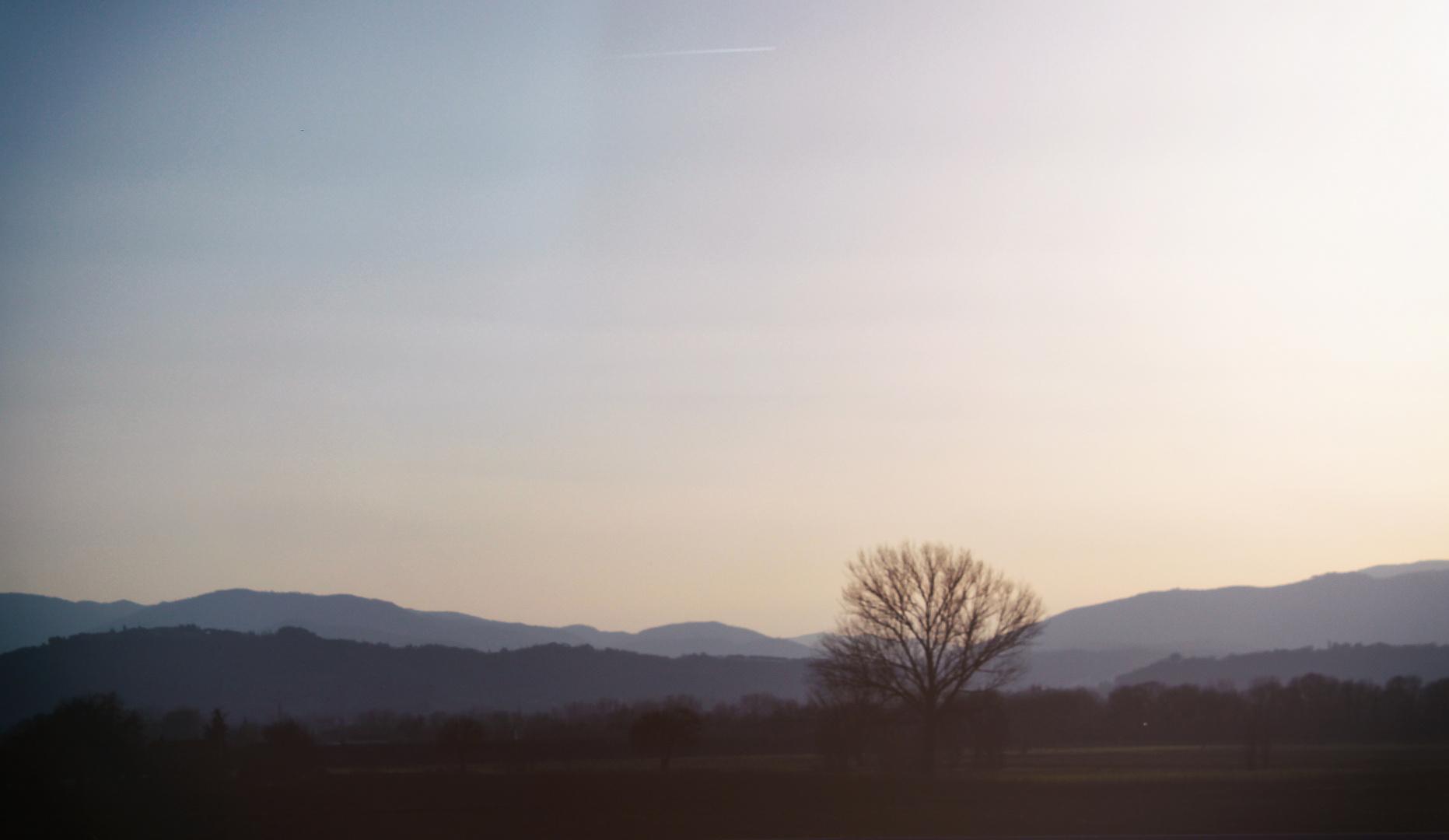 al tramonto..