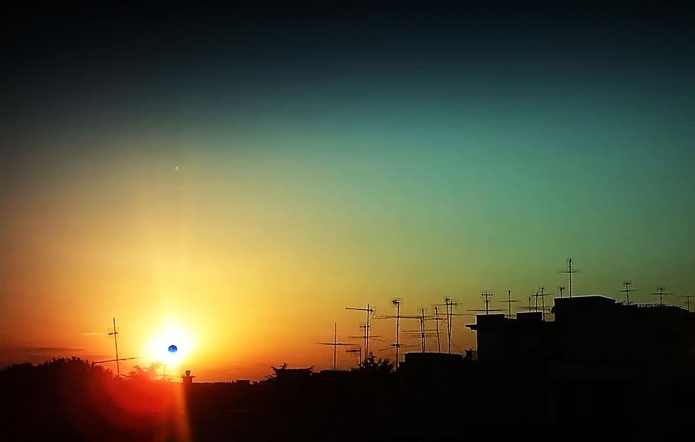 Al tramonto...