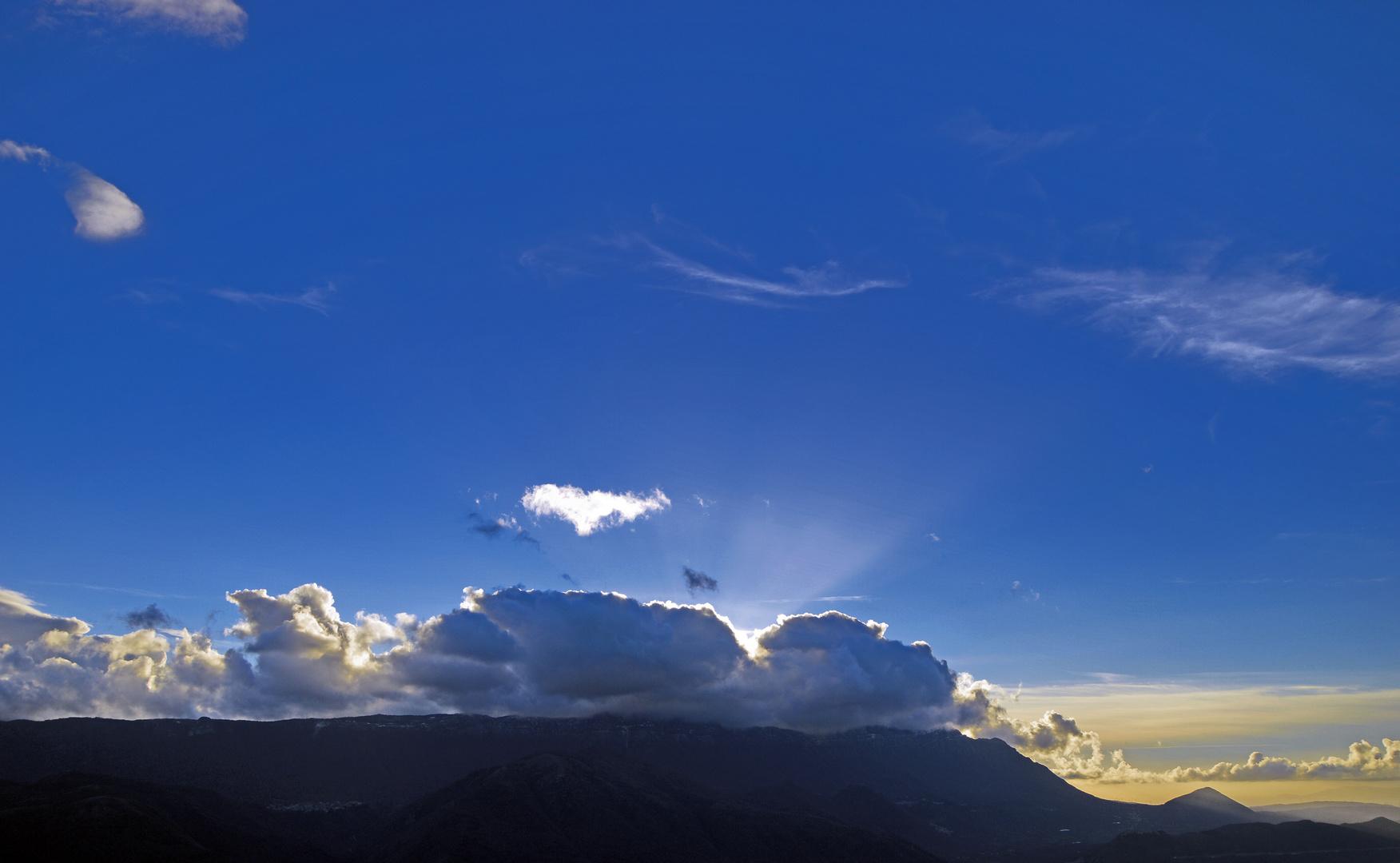 ....al tramonto, gli ultimi raggi del sole trasmettono tante emozioni...