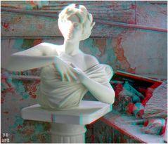 Alabaster-Büste...(3D+MPO-Link)