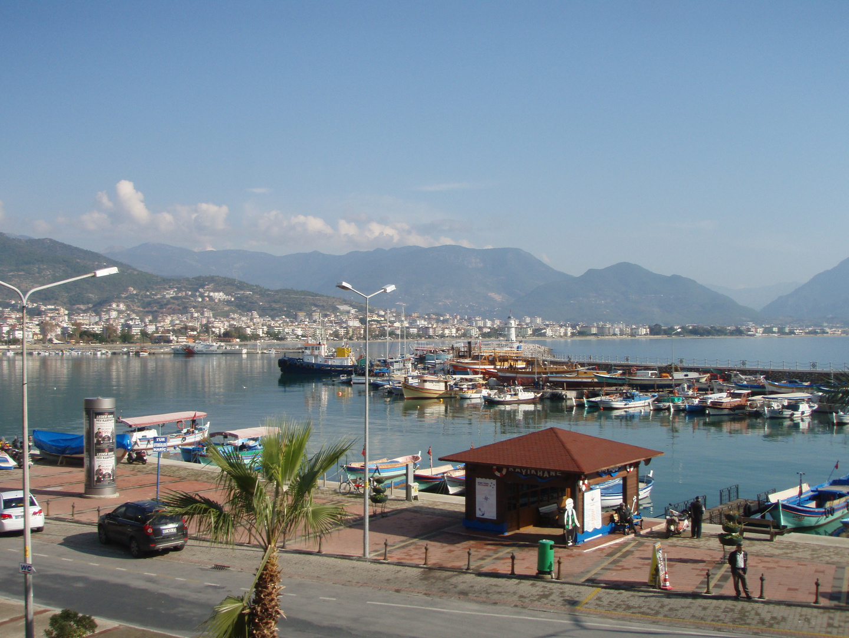 Alanya Hafen 2012
